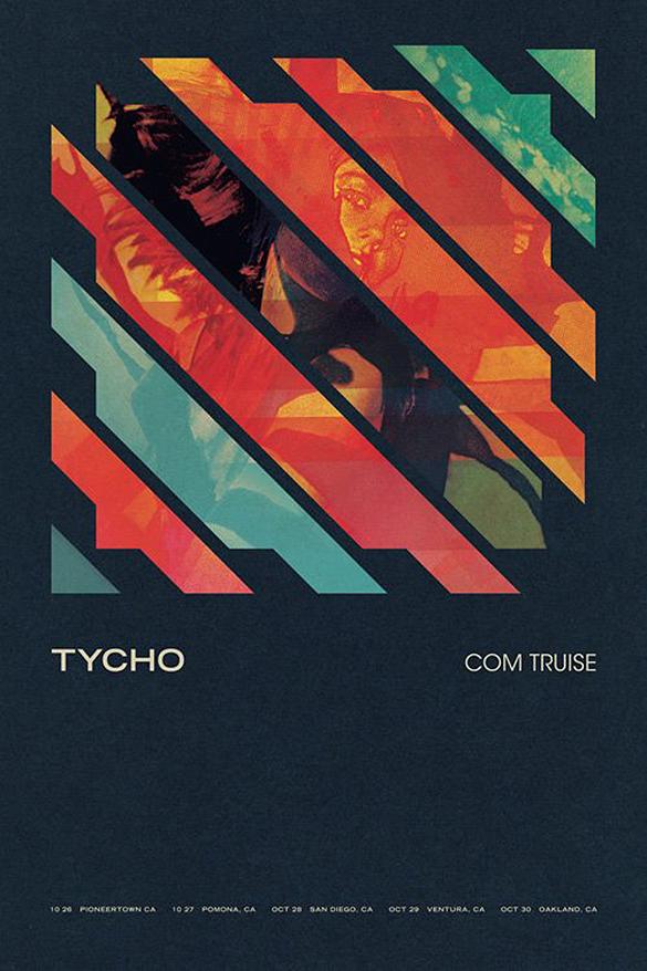 Tycho x Com Truise - Californian Tour