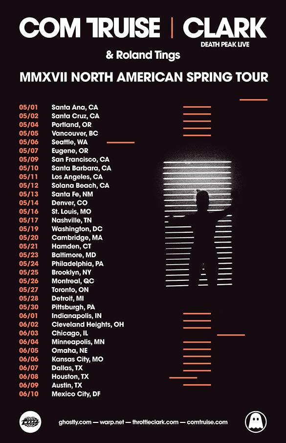 Com Truise & Clark - 2017 Spring Tour