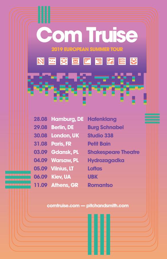 Com Truise 2019 European Tour